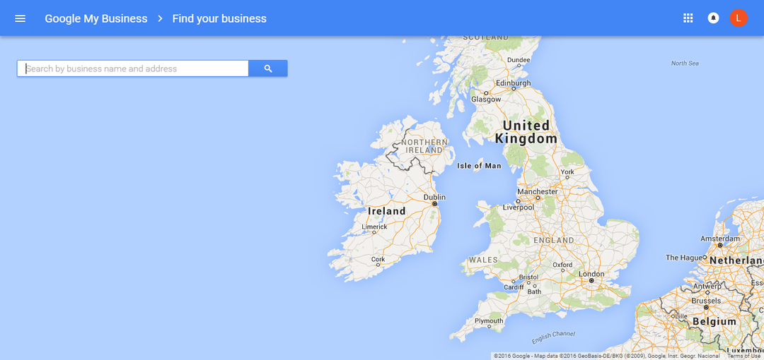 using the maps to find your business on Google